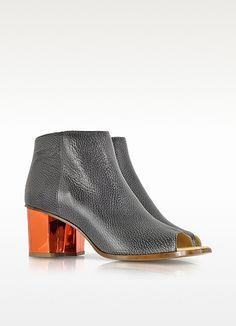 Bottines à talons open toe - MM6 Maison Martin Margiela Chaussures Femme,  Maison De Martin 27510997de7