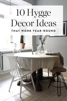News flash: It doesn't have to be cold outside to get hygge with your home decor. These are our ten favorite decor items for working hygge into your home year-round. — via @PureWow