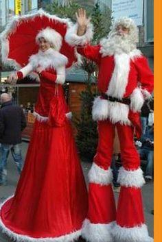 Kerst acts | Dé specialist in winkelcentrum promotie