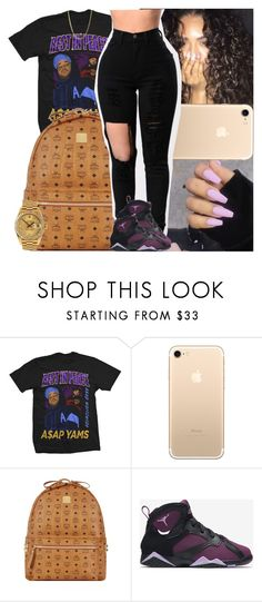 """""""Untitled #1177"""" by msixo ❤ liked on Polyvore featuring MCM, NIKE and Rolex"""