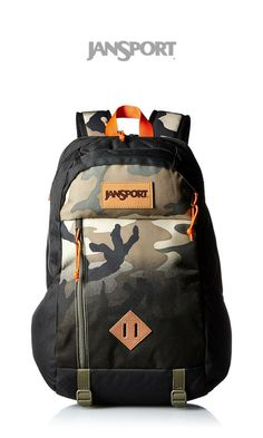 917c8a6ac7176 Stand out from the crowd with the JanSport Fox Hole Backpack! The style  featured is