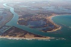 Río Ebro.... desembocadura