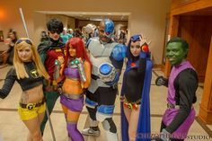 The Teen Titans cosplay
