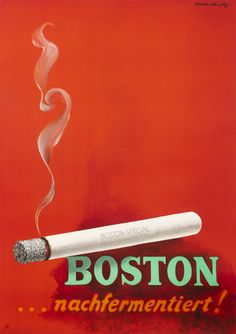 Boston Cigarettes by Rutz, Viktor