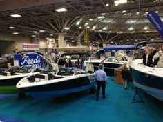 Four Winns booth 2014 Boat Show