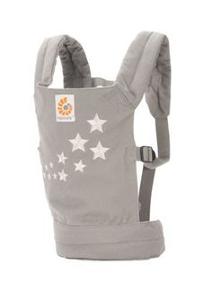 ERGObaby Original Doll Carrier, Galaxy Grey (845197005243) 100% cotton canvas body construction Padded shoulder and waist straps Machine wash and dry, gentle cycle