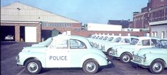 Morris 1000 panda cars in Grimsby. Police Crime, Police Cars, Morris Minor, Emergency Vehicles, Law Enforcement, Car Ins, Cool Cars, Photo Art, Transportation