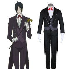 Black Butler Sebastian Michaelis 2ND Cosplay Costumes