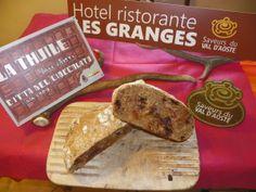 Lo pan ner di Grandze del Ristorante Les Granges di La Thuile - Valle d'Aosta