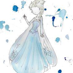 Elsa from Bri Pi Art
