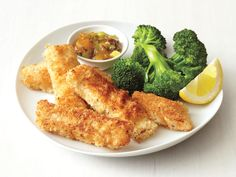Coconut Fish Sticks from FoodNetwork.com