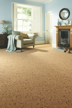 @AxminsterUK Royal Clovelly Symphony - Antique Gold. Available at Rodgers of York.