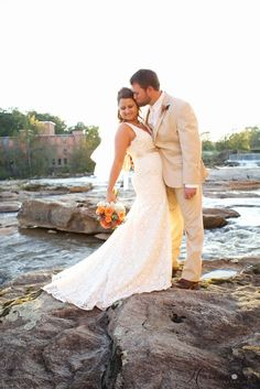 The Mill at Yellow River Wedding Porterdale, Ga. | Holly L. Robbins Photography