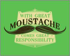 #moustache statement