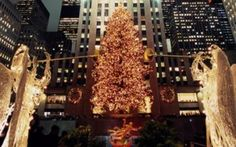 Rockefeller at Christmas time.