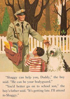 Walt Disneys The Shaggy Dog Vintage Little by MyLittleBookGarden