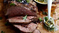 Norman's Butterflied Leg of Lamb with Lively Salsa - RTE Food Meat Lovers, Norman, Salsa, Steak, Food Ideas, Recipes, Food, Recipies