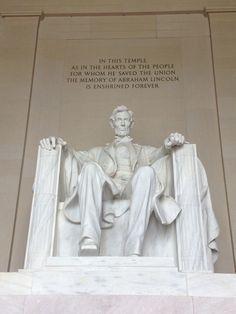 Lincoln memorial. DC.