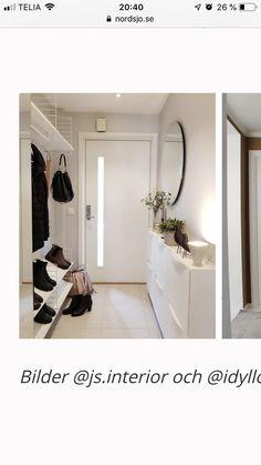 Diy Interior, Interior Design, Beautiful Space, Beautiful Homes, Hallway Inspiration, Small Entryways, Cosy Corner, Smart Storage, Bedroom Office