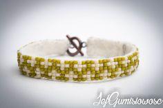 Blog z autorską, ręcznie wyszywaną biżuterią w technice sutasz. Beading, Beaded Bracelets, Wedding Rings, Engagement Rings, Blog, Jewelry, Enagement Rings, Beads, Jewlery
