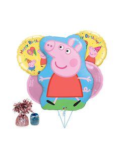 Peppa Pig Balloon Kit - Balloon Kits and Individual Party Supplies