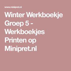 Winter Werkboekje Groep 5 - Werkboekjes Printen op Minipret.nl