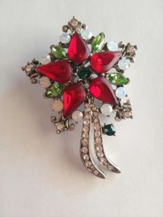 Knowledgeable Christmas Brooches Sleigh Bell Crystal Gold-color Double Bells Brooches Fashion Christmas Bows Multicolor Brooches Rings