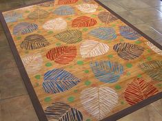 Create this project with Americana Decor® Chalky Finish™ — Feel like you are in a tropical paradise with a decorative rug using Americana Decor® Chalky Finish paints. Painted Bamboo, Painted Rug, Tropical Rugs, Bamboo Rug, Chalky Finish Paint, Diy Headboards, Diy Art, Art Projects, Crafts For Kids