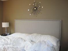 Diy cabecera de cama