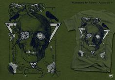 Asobio - T-shirt Illustrations 2011 by Davide Martini, via Behance