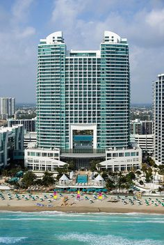 The Westin Diplomat Resort & Spa, Hollywood, Florida—Beach View by Westin Hotels and Resorts, via Flickr