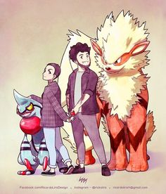 "4,141 Me gusta, 19 comentarios - Ricardo Lira (@rickslira) en Instagram: ""Rebecca Scharhag, her boyfriend and their Pokémon buddies, Toxicroak and Arcanine. Order for the…"""