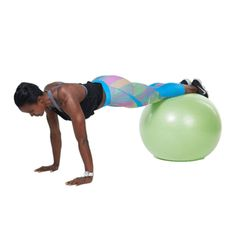 The big bouncy ball at the gym is made for so much more than simple core moves. Add these creative exercises to your next workout