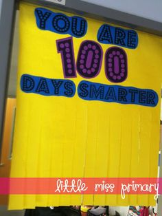 Little Miss Primary: 100 days smarter!