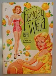 Tuesday Weld paperdolls.