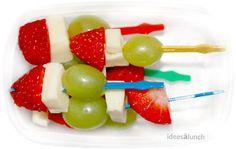 Idées à lunch: Des idées de collation/Snack ideas