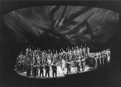 """"""" Götterdämmerung """" 2.Aufzug 1963 Wolfgang Wagner Bühnenphoto"""