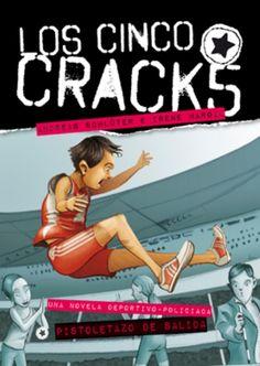 Coleccion de 5 libros sobre niños de colegio que son grandes deportistas, cada uno en una disciplina.
