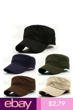 84a838f0f5e Military Hat Army Cadet Patrol Castro Cap Men Women Golf Baseball ...