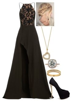 """""""Untitled #2675"""" by strangerthanfanfiction713 on Polyvore featuring Michael Kors, Elle Zeitoune, Giuseppe Zanotti, Mark Broumand and Lord & Taylor"""