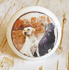 Lab Dog Knobs, Mans Best Friend Drawer Pulls, Cabinet Pull Handles, Pet Dog Dresser Knobs, Cabin Decor, Country Knobs, Made To Order by SRVintageandDesigns on Etsy