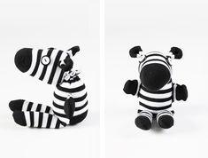 DIY Sock Zebra Tutorial