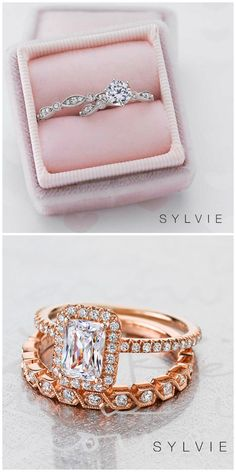 Diamond Wedding Band Sylvie Collection has created over different engagement ring designs, with over 100 wedding bands to match! - One lucky jewelry lover will win a gorgeous diamond stacking band from Sylvie Collection through Vintage Diamond Rings, Diamond Jewelry, Different Engagement Rings, Women Jewelry, Jewelry Box, Jewelery, Designer Engagement Rings, Diamond Wedding Bands, Colored Diamonds