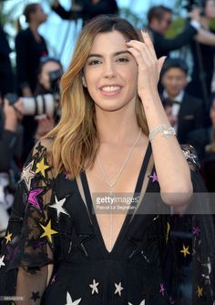 Camila Coutinho attends the 'Okja' screening during the 70th annual Cannes Film Festival at Palais des Festivals on May 19, 2017 in Cannes, France.