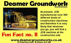 #JCB fun fact of the day #DeamerGroundWorks