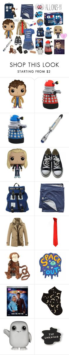 """""""Little Doctor (10)"""" by lilcuriosity ❤ liked on Polyvore featuring Funko, Converse, Versace, Wrangler, Forever 21, men's fashion and menswear"""