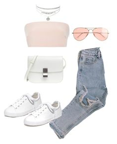 Untitled #5053 by lilaclynn on Polyvore featuring moda, Monique Lhuillier, Ash, J.Crew, jcrew and celine