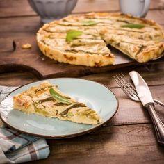 Quiche aux asperges facile Quiches, Camembert Cheese, Dairy, Pizza, Gluten, Bread, Vegan, Chicken, Food