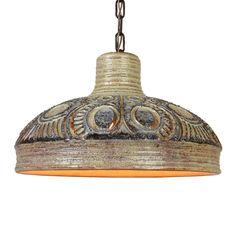 Ceramic hanging lamp by Jette Hellerøe for Axella Denmark // Price € 180