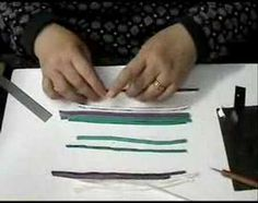 Suzanne Ivester demonstrates a fun technique for building a colorful, complex quilt cane quickly and easily with a clay gun. This 35-minute video is in 4 parts.